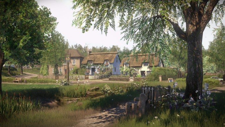 『Everybody's Gone to the Rapture -幸福な消失-』ゲーム画面