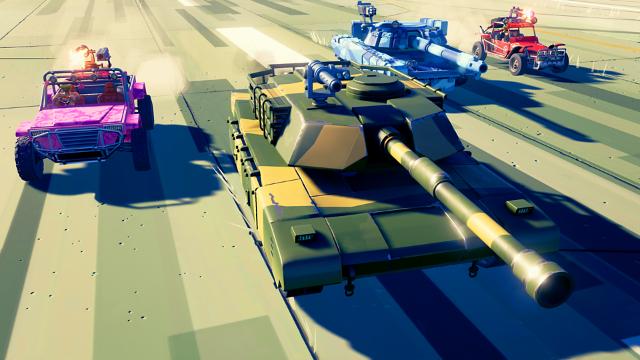 ハードウェア:ライバルズ ゲーム画面1
