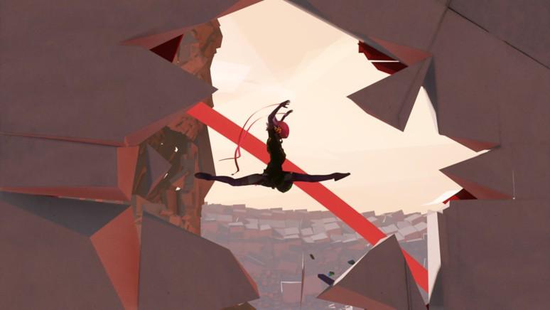 『バウンド:王国の欠片』ゲーム画面