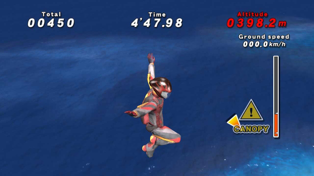 Go! Sports Skydiving ゲーム画面3