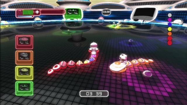 スネークボール ゲーム画面1