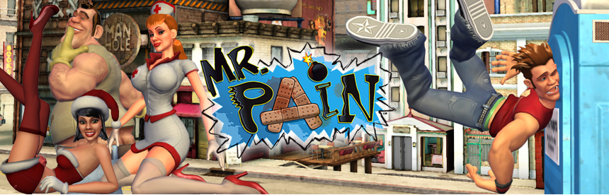 Mr.PAIN バナー画像