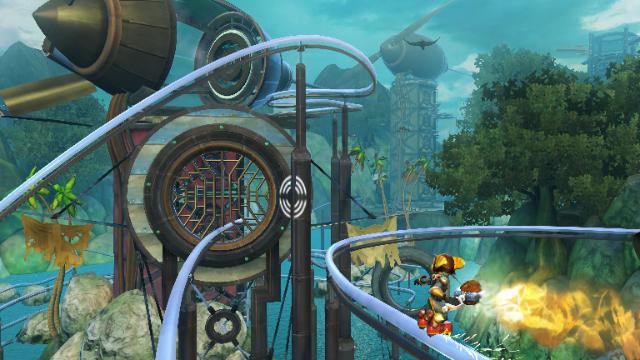 ラチェット&クランク FUTURE外伝 海賊ダークウォーターの秘宝 ゲーム画面4