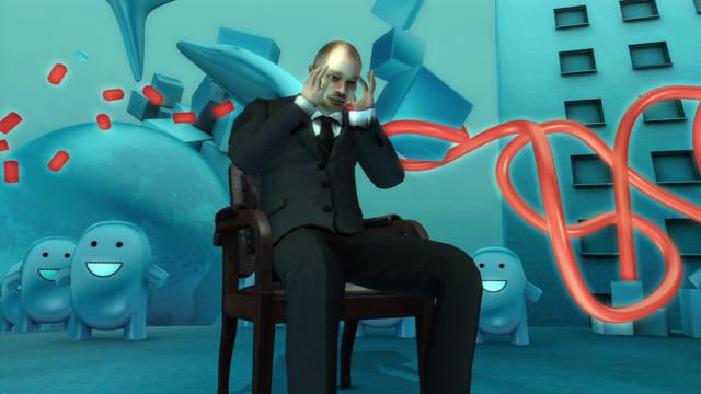detuned グミ先輩の不思議空間 ゲーム画面1