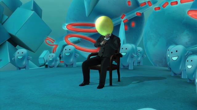 detuned グミ先輩の不思議空間 ゲーム画面3