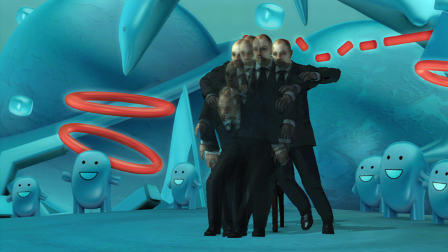 detuned グミ先輩の不思議空間 ゲーム画面4