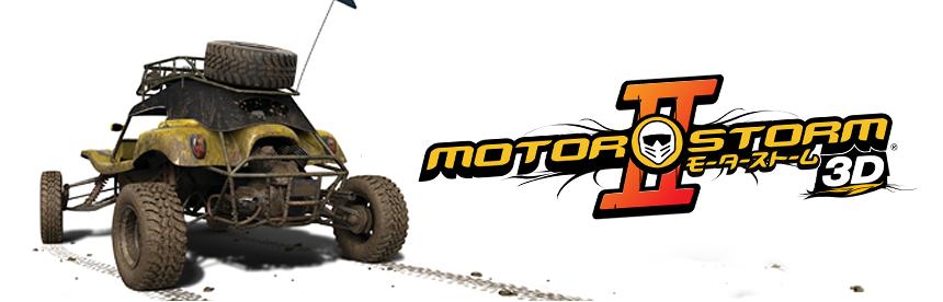 MotorStorm 2 3D バナー画像