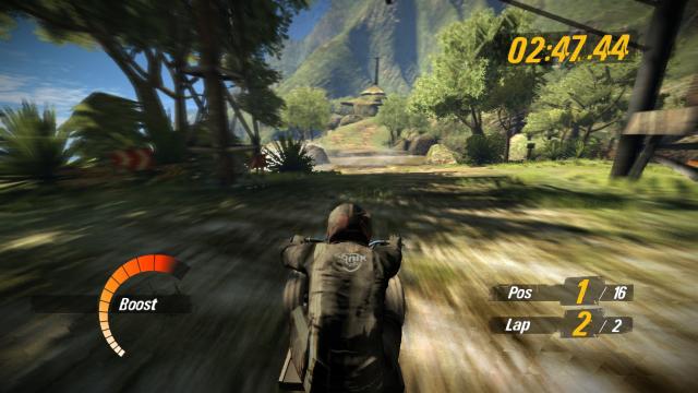 MotorStorm 2 3D ゲーム画面1