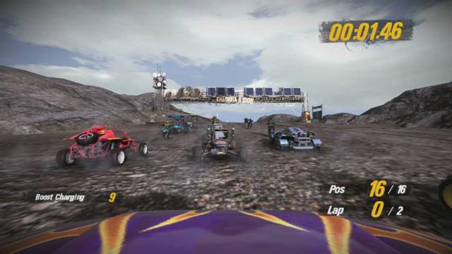 MotorStorm 2 3D ゲーム画面5