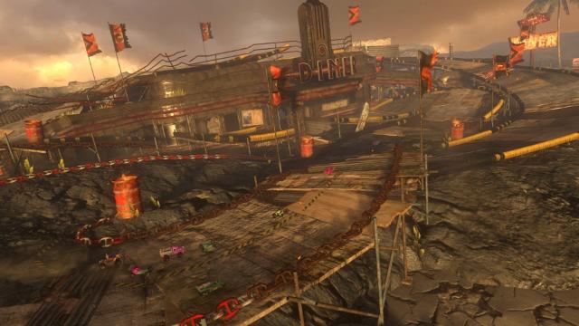 モーターストームRC ゲーム画面1