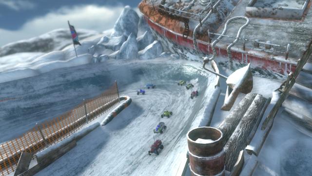 モーターストームRC ゲーム画面3