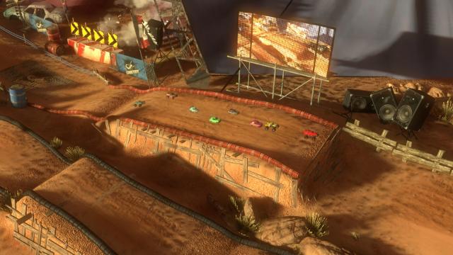 モーターストームRC ゲーム画面4