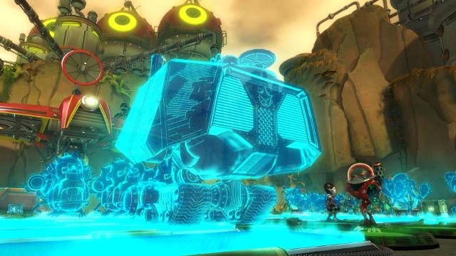 ラチェット&クランク 銀河戦隊Qフォース ゲーム画面6