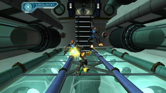 ラチェット&クランク2HD ガガガ!銀河のコマンドーっす ゲーム画面3