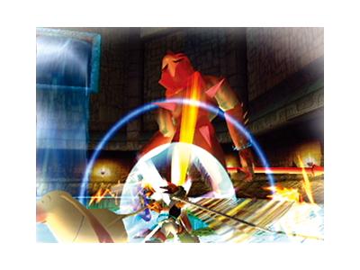 デュアルハーツ ゲーム画面1