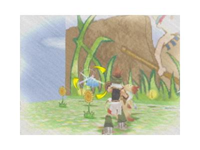 デュアルハーツ ゲーム画面2