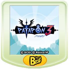 パタポン3 PSP® the Best ジャケット画像