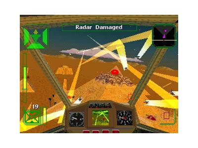 AirAssault(原題:WARHAWK) ゲーム画面4