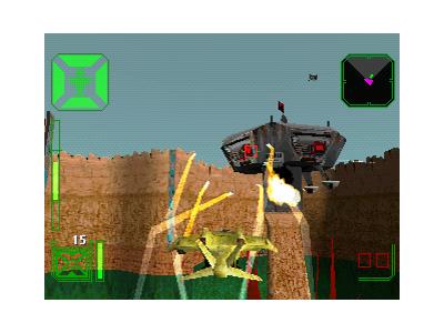 AirAssault(原題:WARHAWK) ゲーム画面5