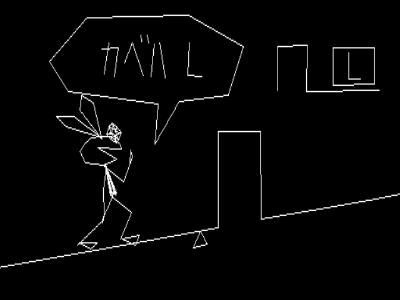 ビブリボン ゲーム画面3