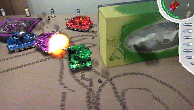 Table Top Tanks ゲーム画面1