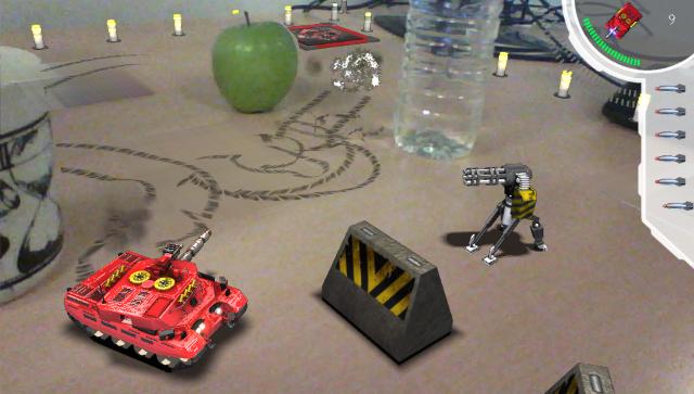 Table Top Tanks ゲーム画面3
