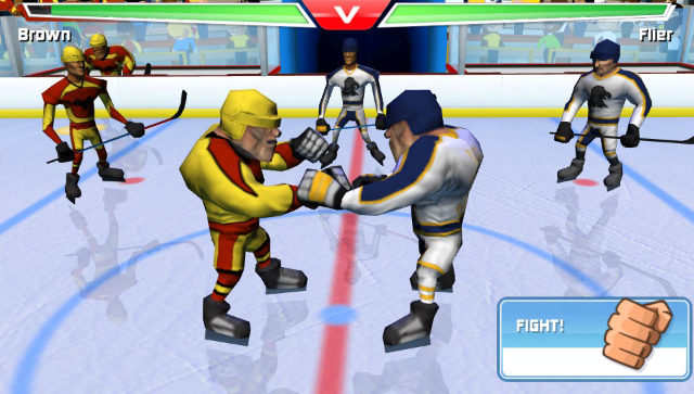 Table Play Ice Hockey ゲーム画面4
