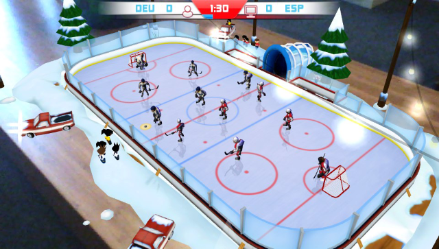 Table Play Ice Hockey ゲーム画面5