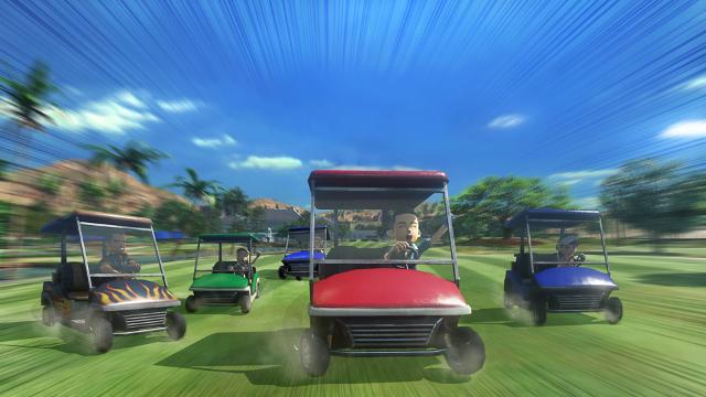 New みんなのGOLF ゲーム画面8