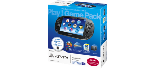 PS Vita 3G/Wi-Fi��ǥ� Play��Game Pack PCHJ-10012