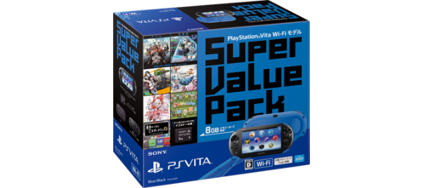 PS Vita Super Value Pack Wi-Fi��ǥ� PCHJ-10017
