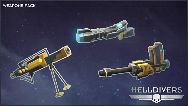 『HELLDIVERS スーパーアースアルティメットエディション』ゲーム画面