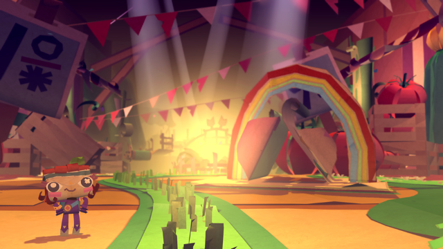 Tearaway PlayStation 4 ゲーム画面1