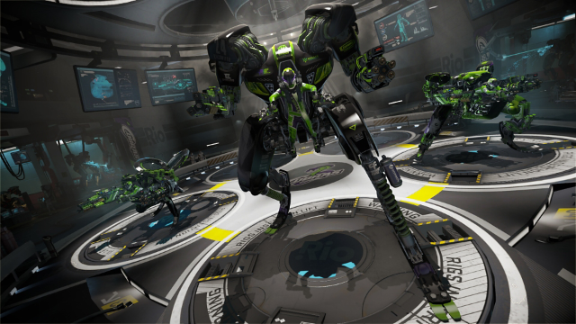 RIGS Machine Combat League ゲーム画面2