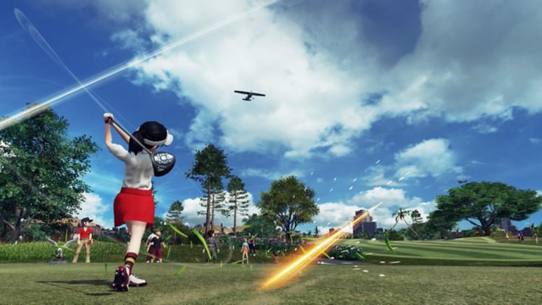 『New みんなのGOLF』ゲーム画面