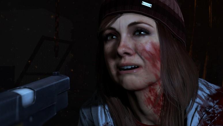 『Until Dawn - 惨劇の山荘 -』ゲーム画面