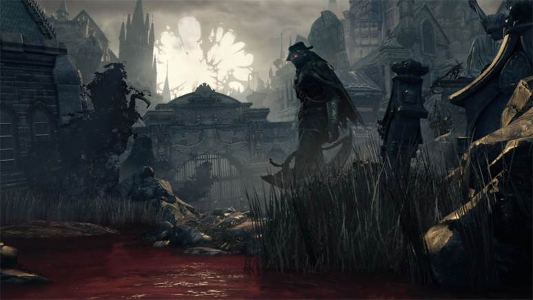 『Bloodborne The Old Hunters Edition』ゲーム画面