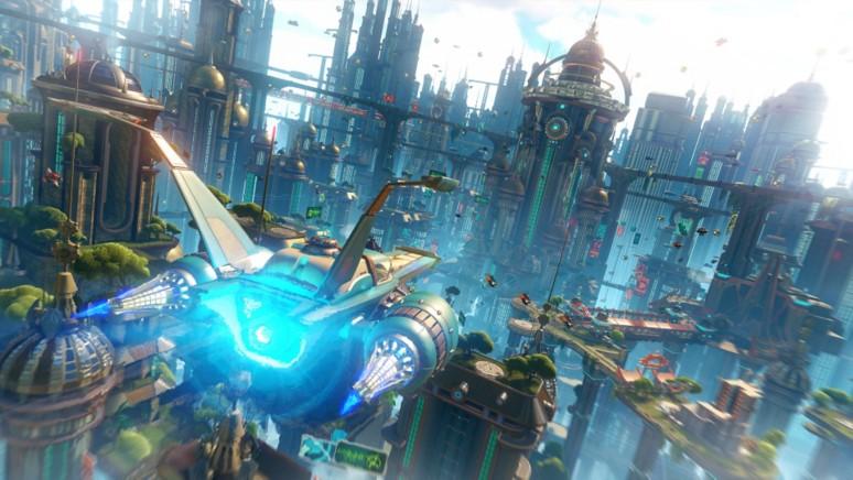 『ラチェット&クランク THE GAME』ゲーム画面