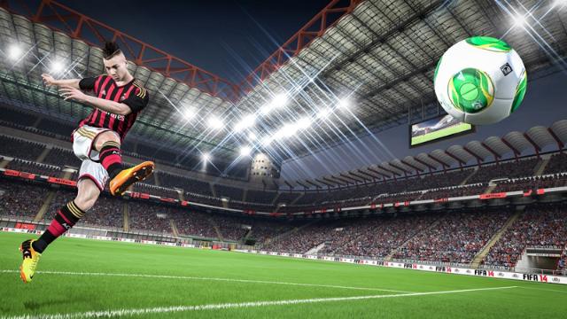 FIFA 14 ゲーム画面2