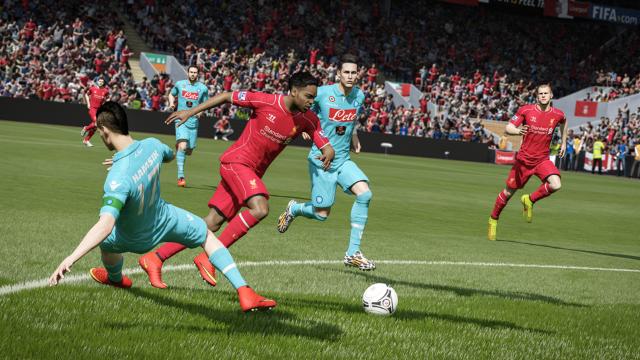 FIFA 15 ゲーム画面1