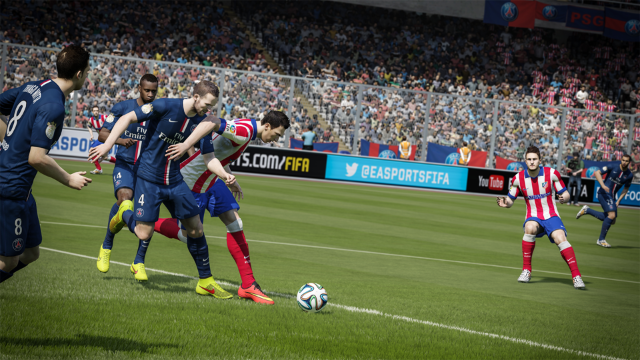 EA BEST HITS FIFA 15 ゲーム画面7