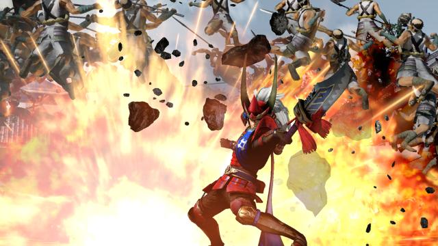 戦国無双4-II ゲーム画面2