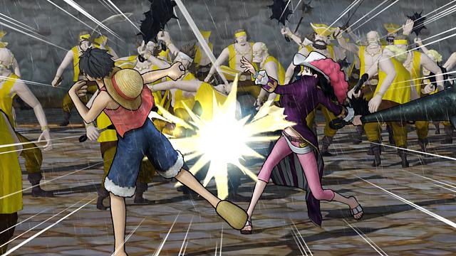 ワンピース 海賊無双3 ゲーム画面2