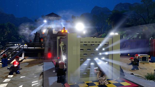 LEGO ジュラシック・ワールド ゲーム画面2