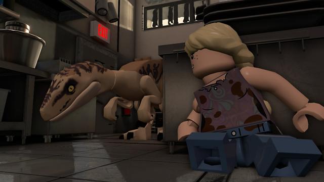 LEGO ジュラシック・ワールド ゲーム画面8