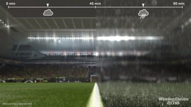 『ウイニングイレブン 2016』ゲーム画面