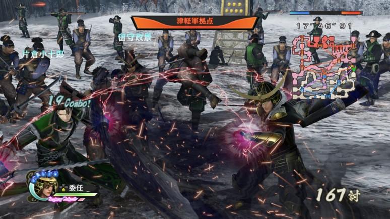 『戦国無双4 Empires』ゲーム画面