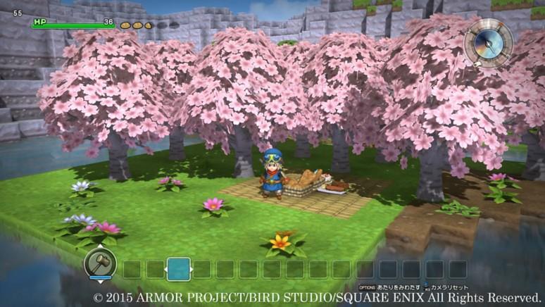 『ドラゴンクエストビルダーズ』ゲーム画面