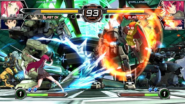 電撃文庫 FIGHTING CLIMAX IGNITION ゲーム画面4