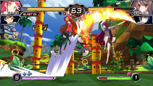 電撃文庫 FIGHTING CLIMAX IGNITION ゲーム画面9